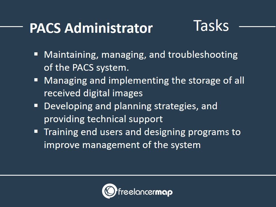PACS Administrator - Responsibilities