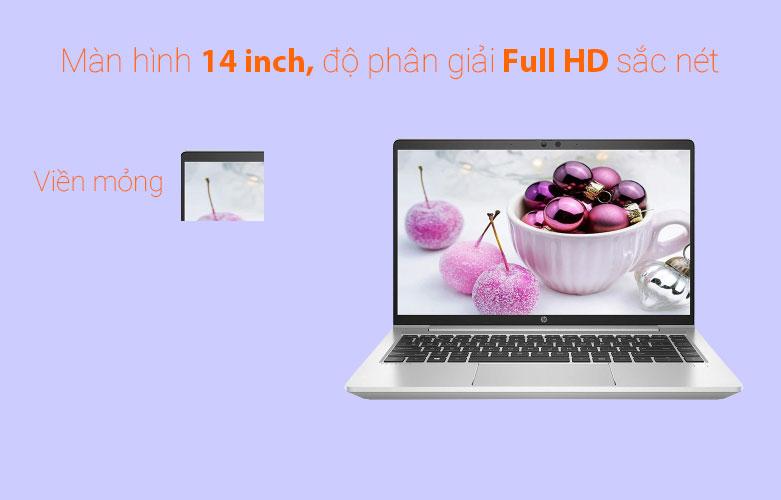 Laptop HP ProBook 440 G8-342H3PA (i5-1135G7) (Bạc)   Màn hình 14 inch sắc nét