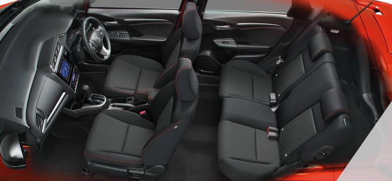 ดีไซน์ภายในรถยนต์ : Honda Jazz GK RS+