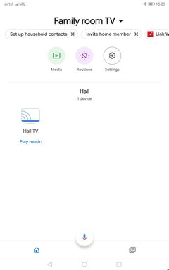 log into a different network, change your Google Account or connect with other devices