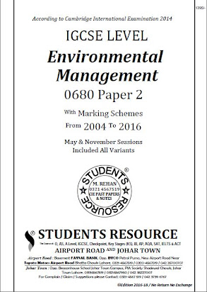 Alternative to coursework igcse environmental management