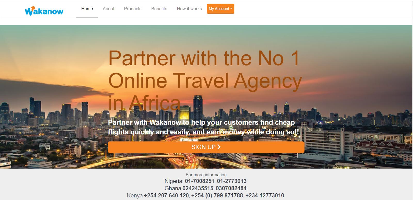 join Wakanow Affiliate Marketing Program in Nigeria 2021