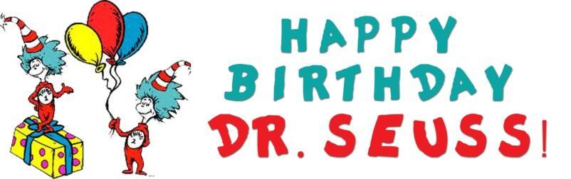 Happy Birthday Dr. Seuss illustration