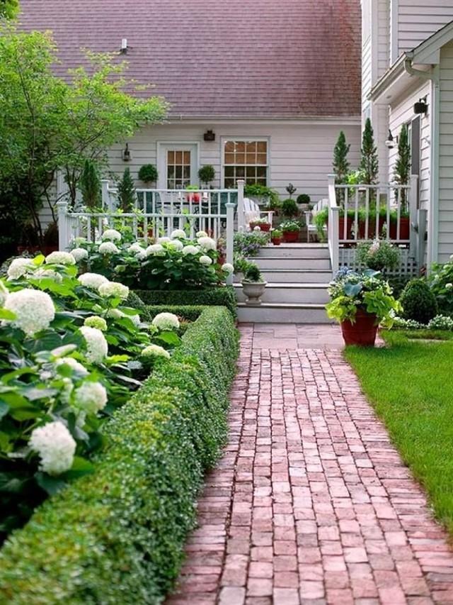 Tengase presente excelentes ideas para sendero de jard n for Camino de piedra jardin