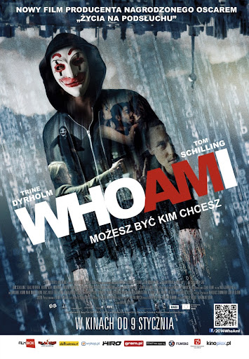 Polski plakat filmu 'Who Am I. Możesz Być Kim Chcesz'