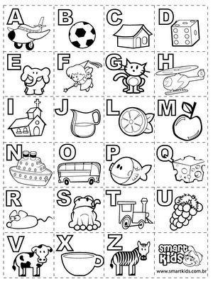 ALFABETO MANUSCRITO  Cartazes Apresentando Os 4 Tipos De Letra
