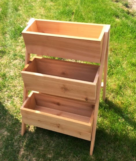 Ana White 10 Cedar Tiered Flower Planter Or Herb Garden