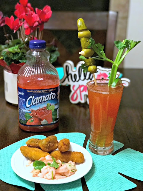 MSG 4 21+, #MyMicheladaMatch #ad Easy Ceviche recipe, Red beer station, Michelada party station, How to make a michelada, How to make ceviche, shrimp and tilapia ceviche, what to include for a beer party,
