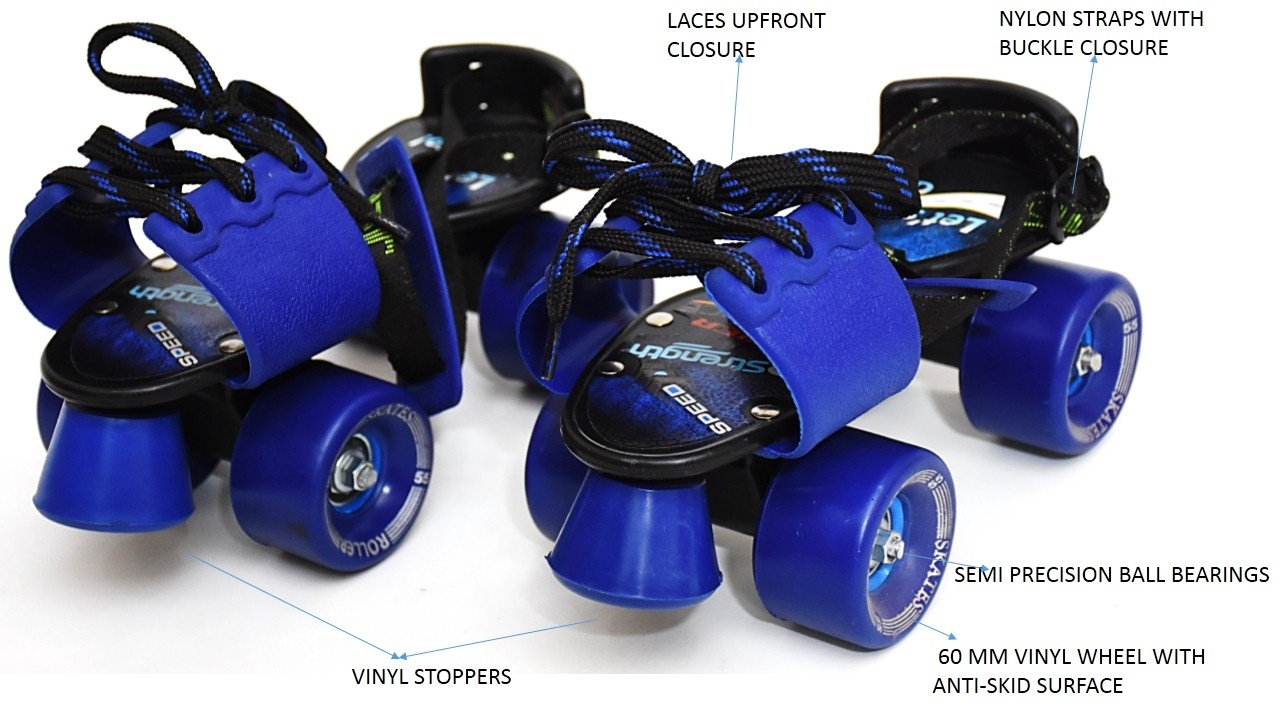 Jaspo Adjustable Senior Tenacity Roller Skates