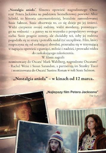 Tył ulotki filmu 'Nostalgia Anioła'