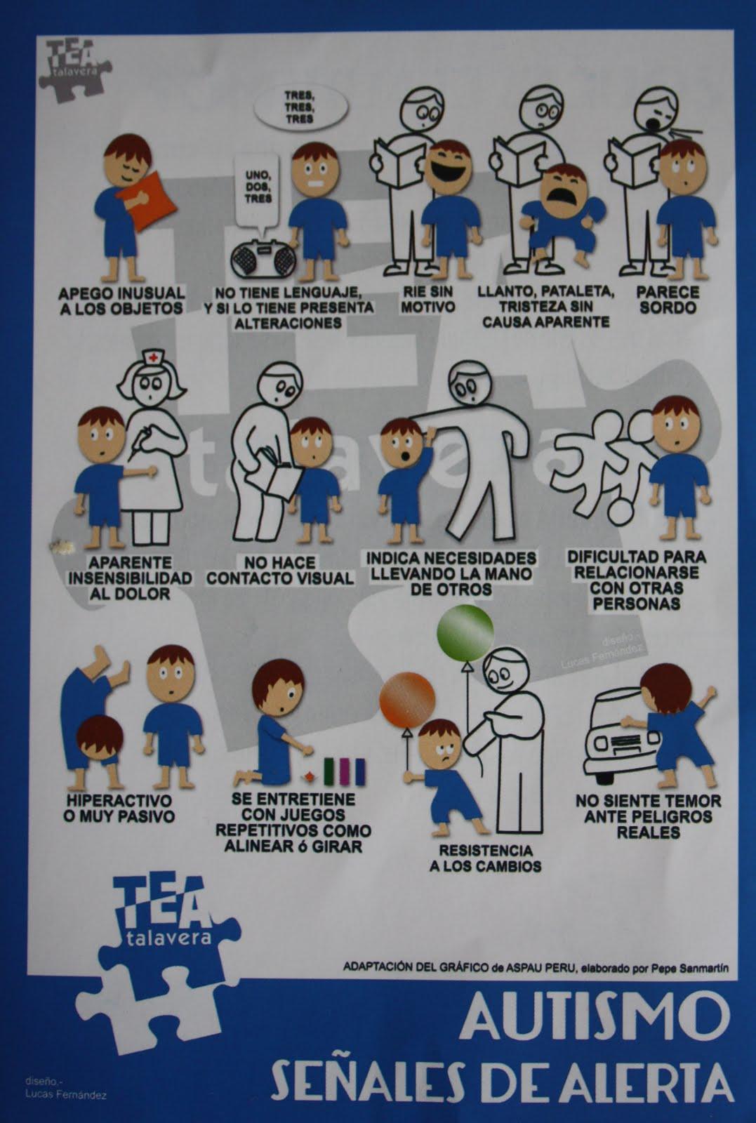 Señales de alerta autismo