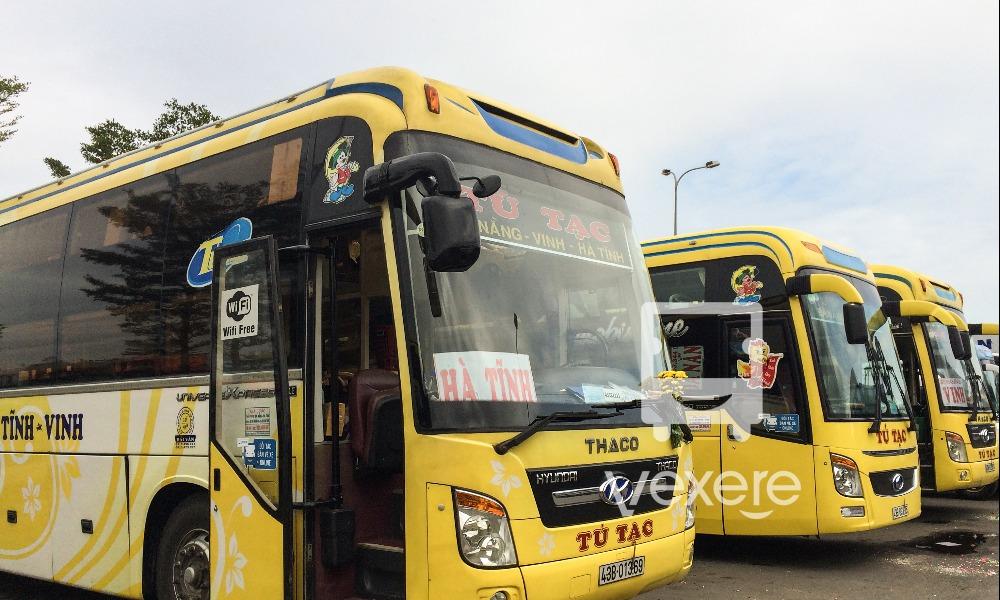 Xe Tú Tạc từ Đà Nẵng đi Hà Tĩnh