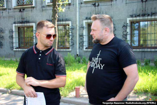 Максим Штатський (л) та Роман Акбаш (п)
