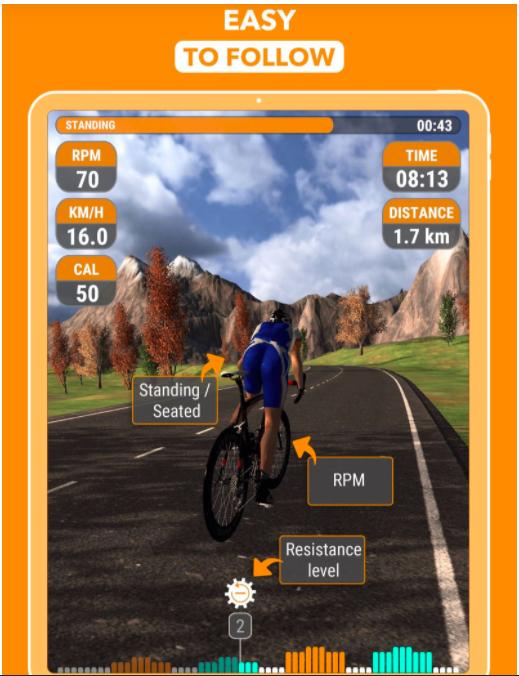 entraînement Cyclego