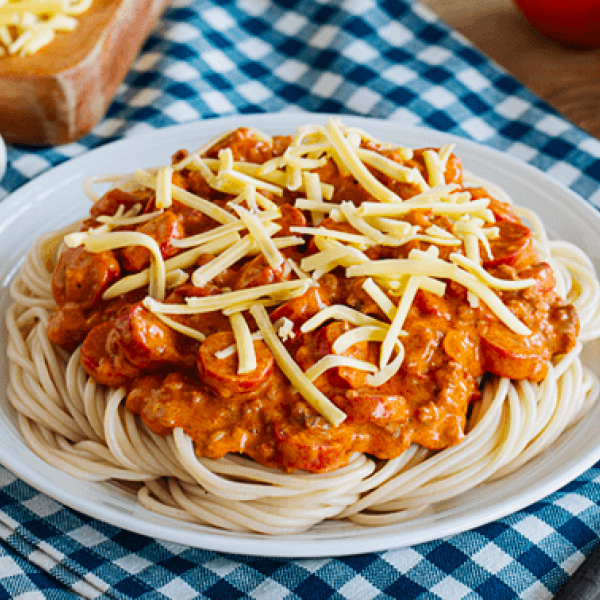 hearty meals creamy spaghetti