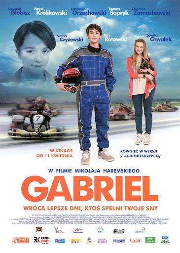 Przód ulotki filmu 'Gabriel'
