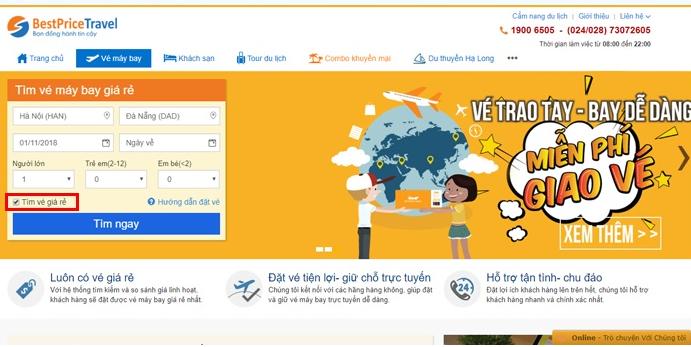 BestpriceTravel là địa chỉ được rất nhiều người lựa chọn khi săn vé máy bay giá rẻ