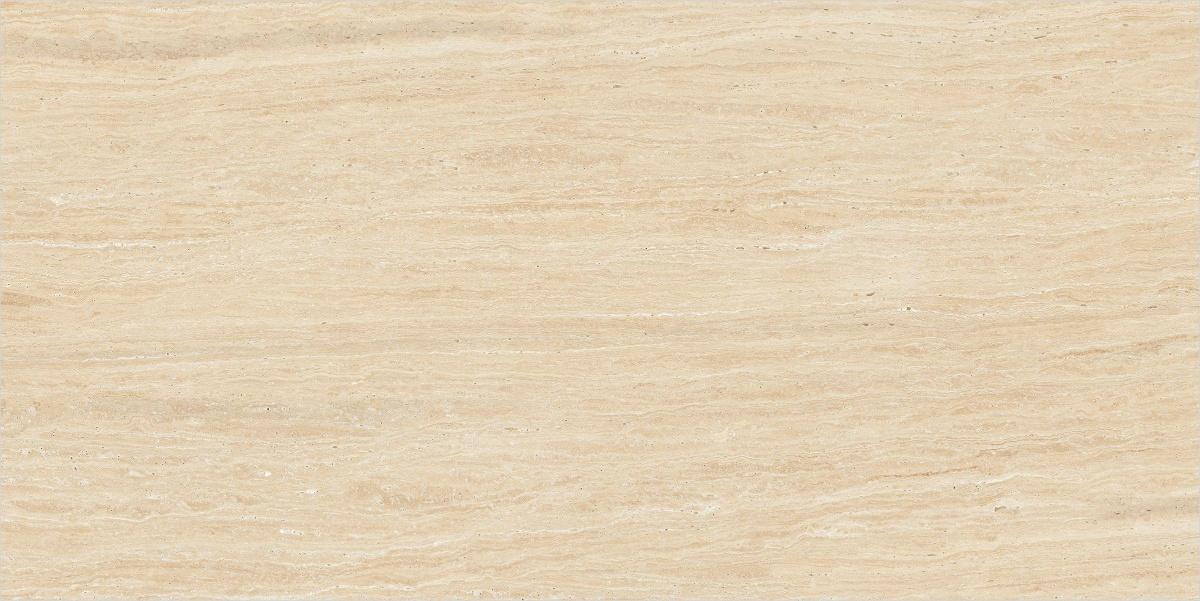 Crema Travertino Marble Slab