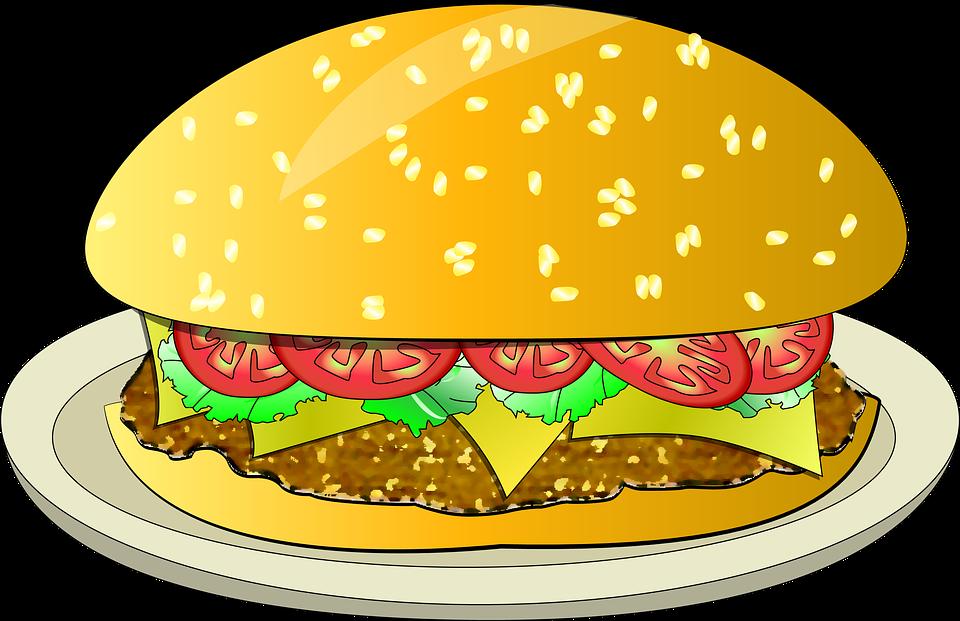 Free illustration: Burger