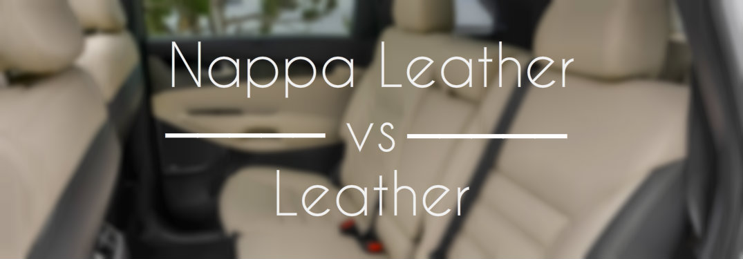 Nappa Leather vs Leather