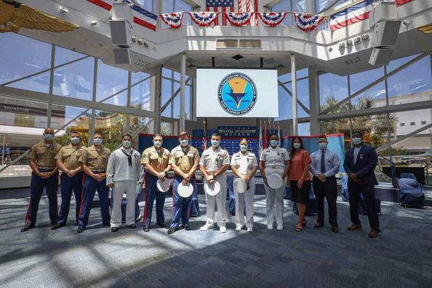 Twelve service members were recognized during an awards ceremony for theirs actions during theshooting at Naval Air Station Pensacola.