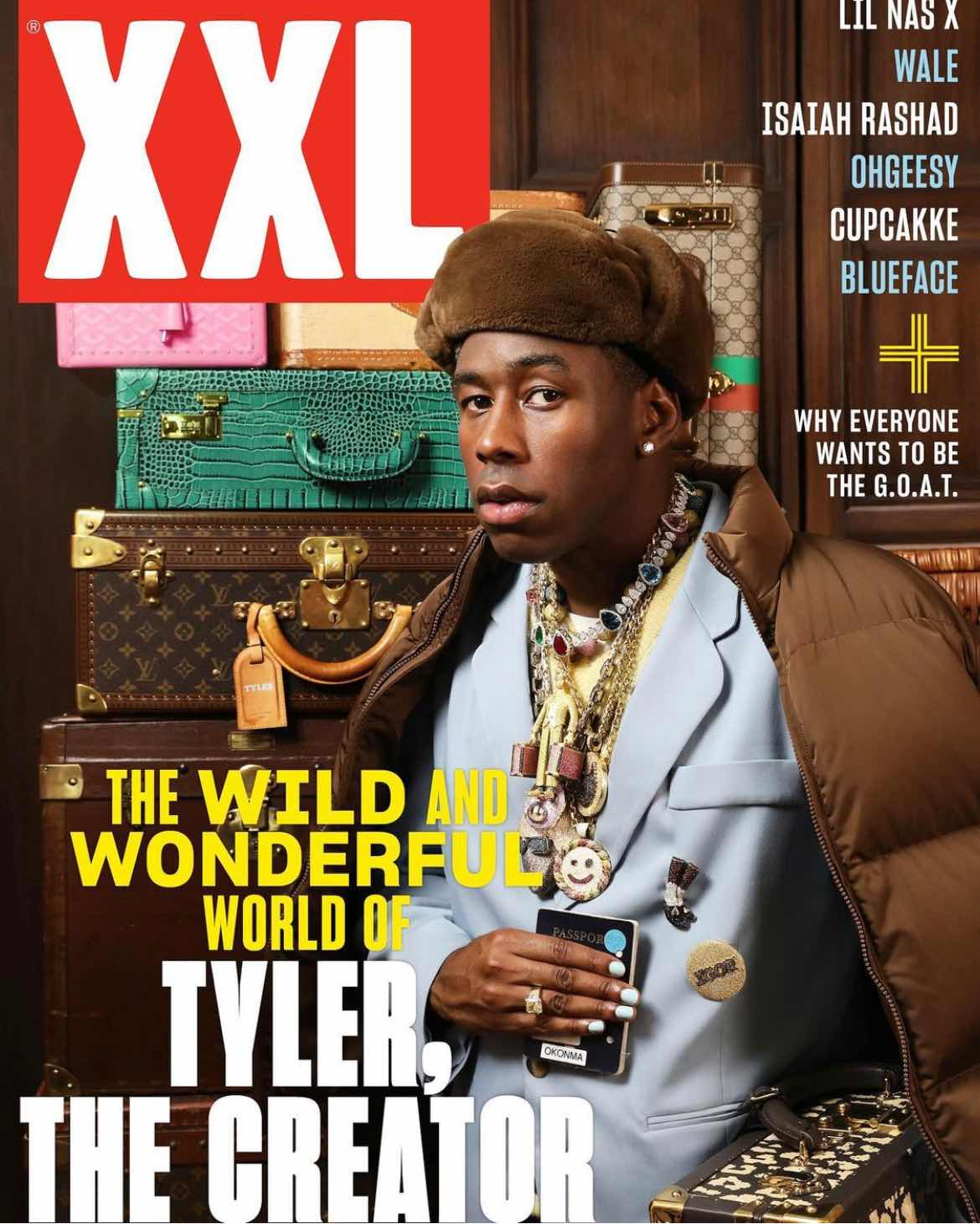 Tyler The Creator for XXL