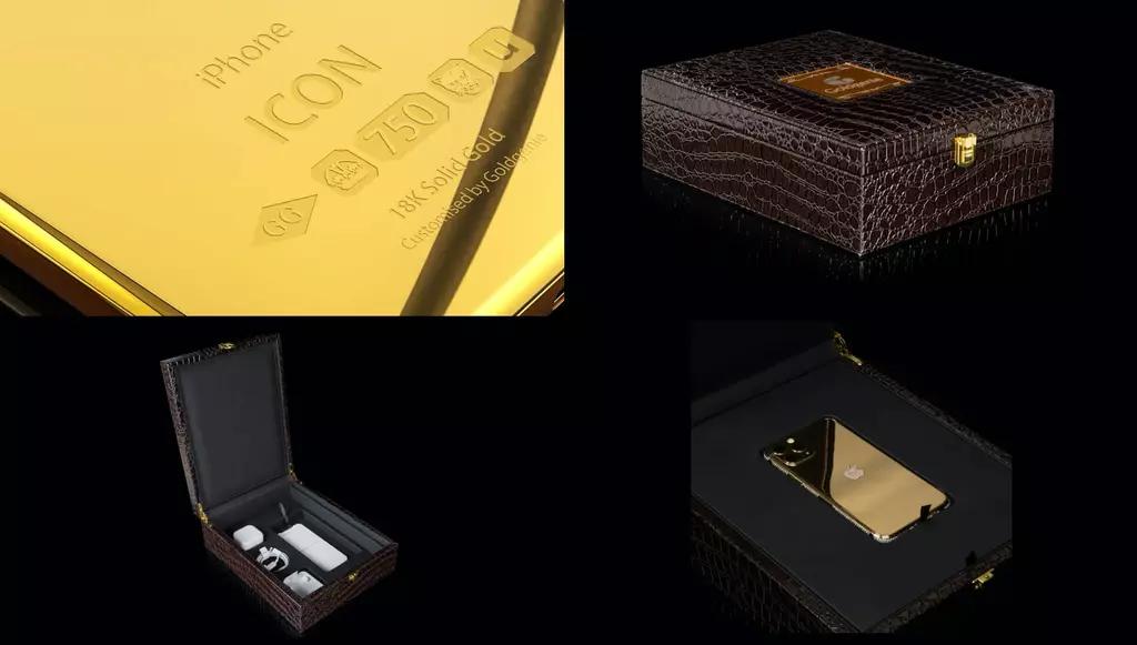 iphone en or
