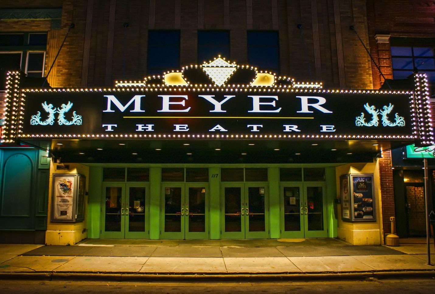 Image result for meyer theatre
