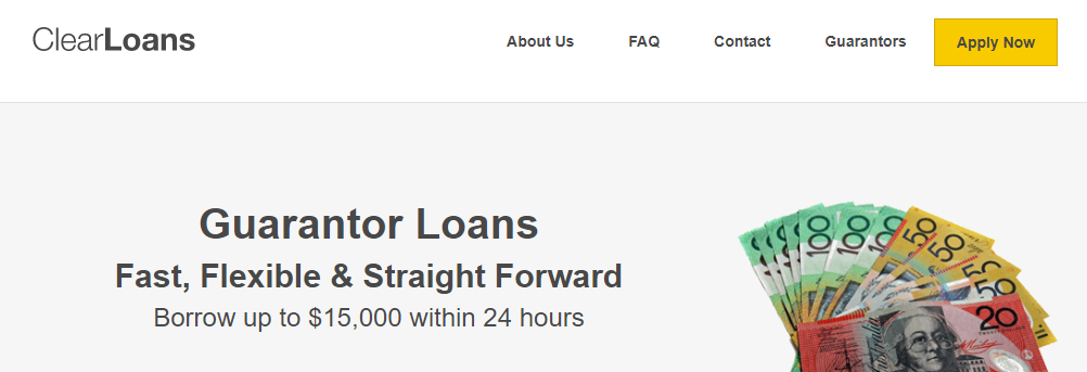Clear loans application process