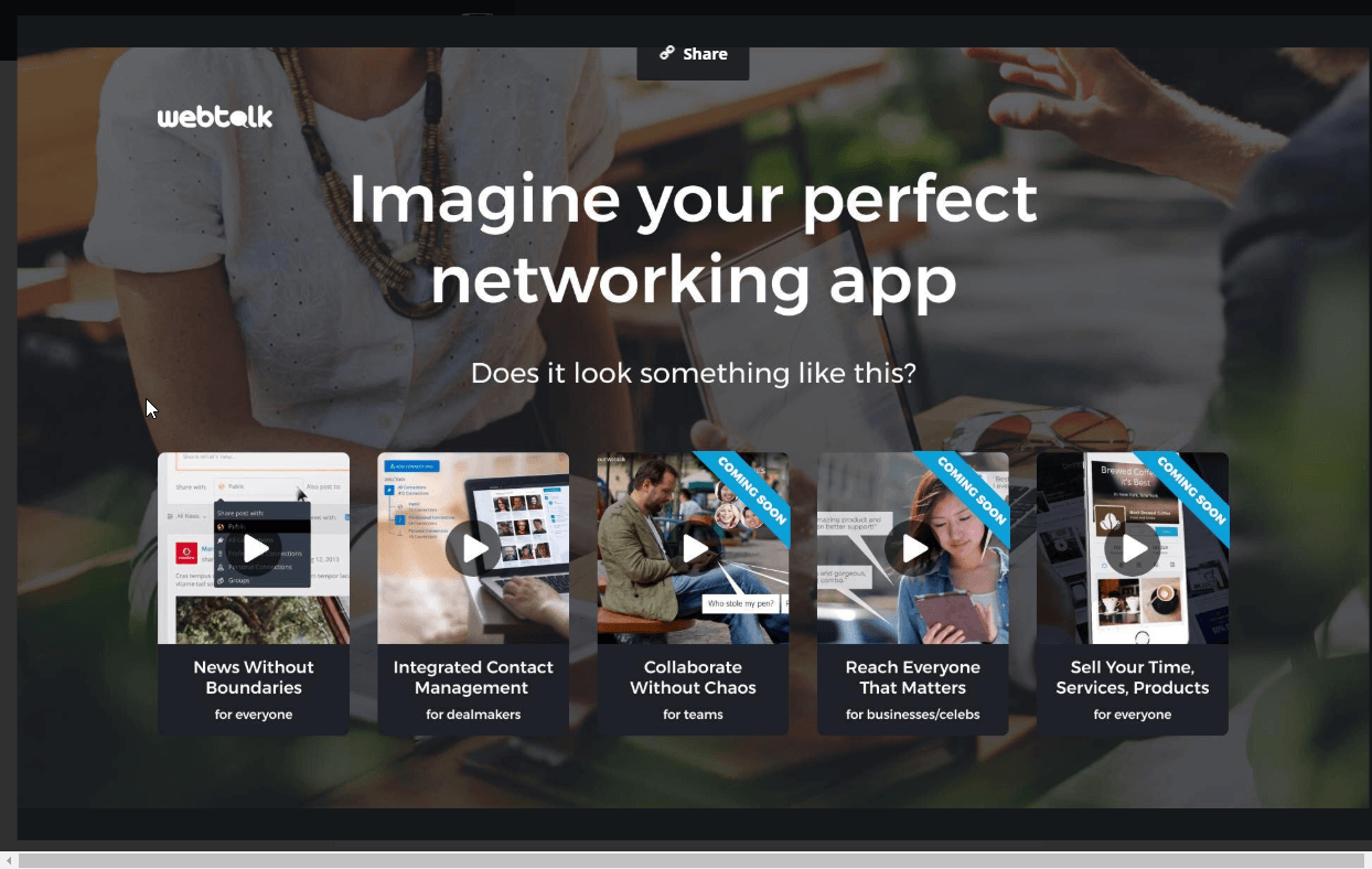 What Is Webtalk? Social Media That Pays You And Imagine Your Perfect Networking App