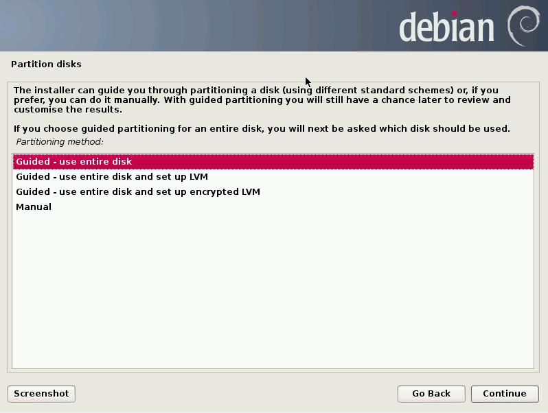 Debian Server