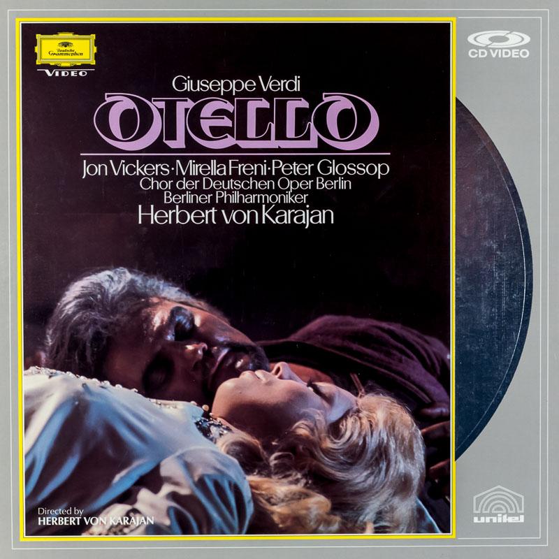 Verdi: Otello: Vickers/Freni/Glossop/Malagu: Berliner Philharmoniker: Karajan