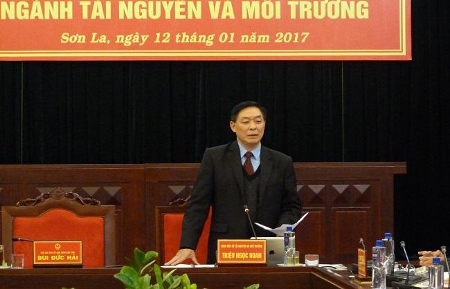 Triệu Ngọc Hoan - Giám đốc Sở Tài nguyên và môi trường tỉnh Sơn La