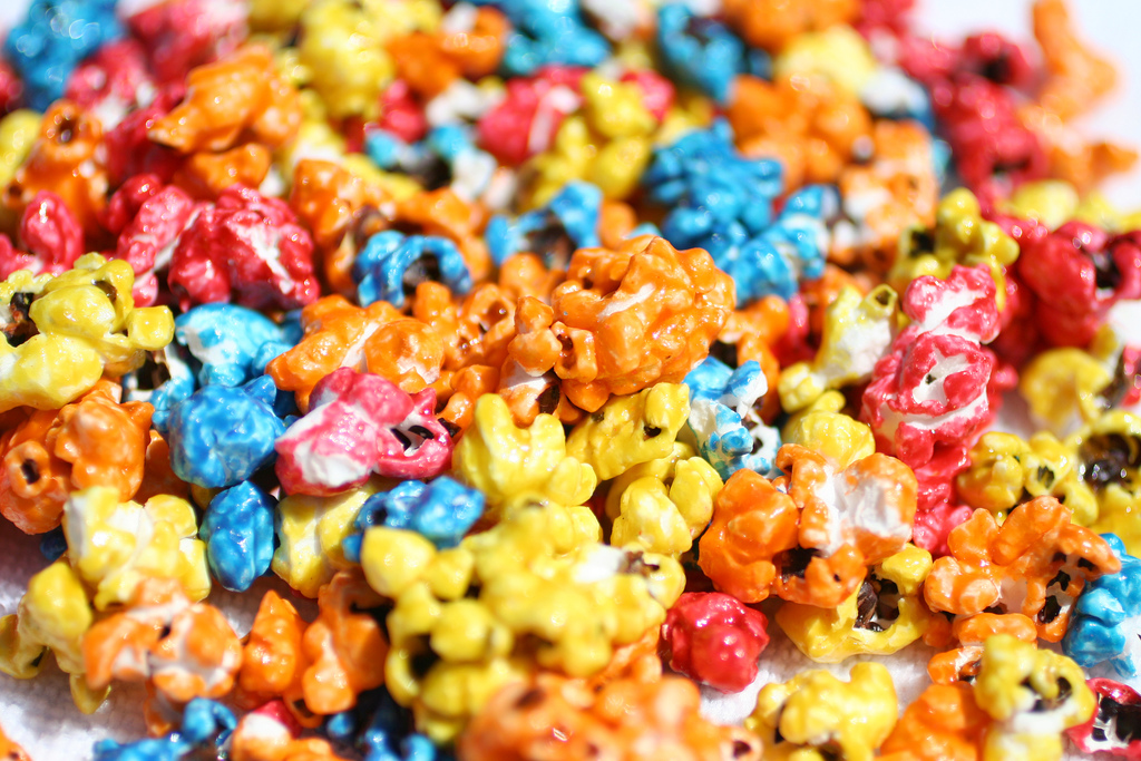 Neon Popcorn   From the ...