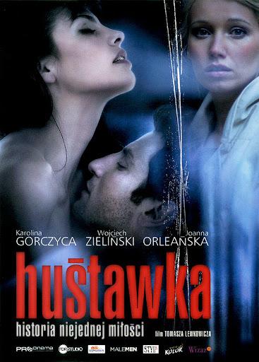 Przód ulotki filmu 'Huśtawka'