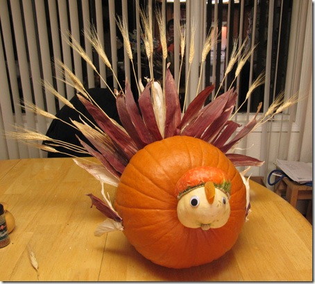 Wacky and Tacky Thanksgiving Centerpieces