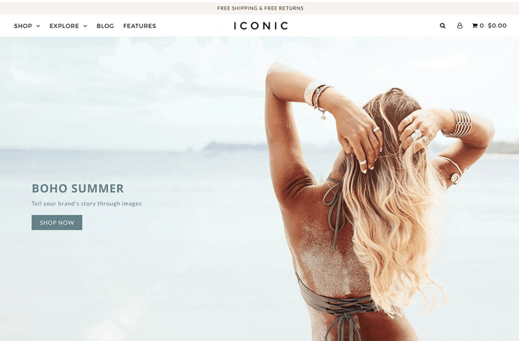 Icon - premium Shopify theme