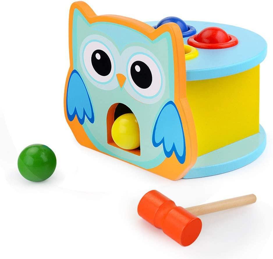 pounding wooden kid toy