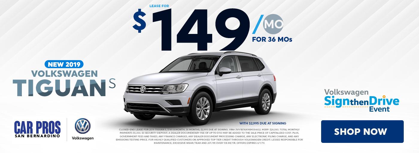 Volkswagen Sign Then Drive Sales Event In San Bernardino Ca Car