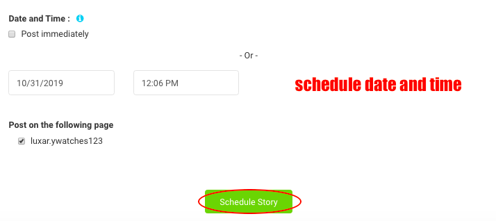 AiSchedul schedule stories