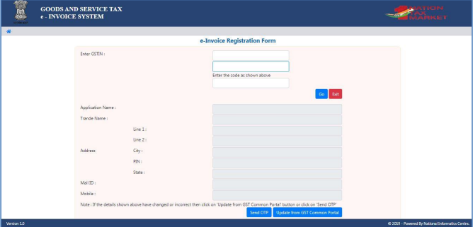 e-invoice registration