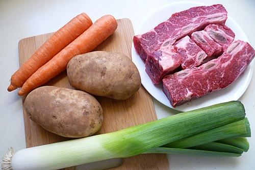 Cách nấu súp bò  - 1