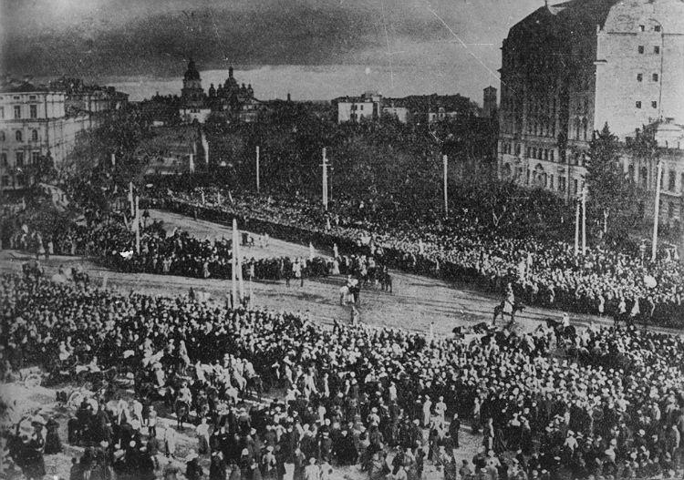 Урочисте проголошення Акту злуки УНР і ЗУНР. 22 січня 1919-го