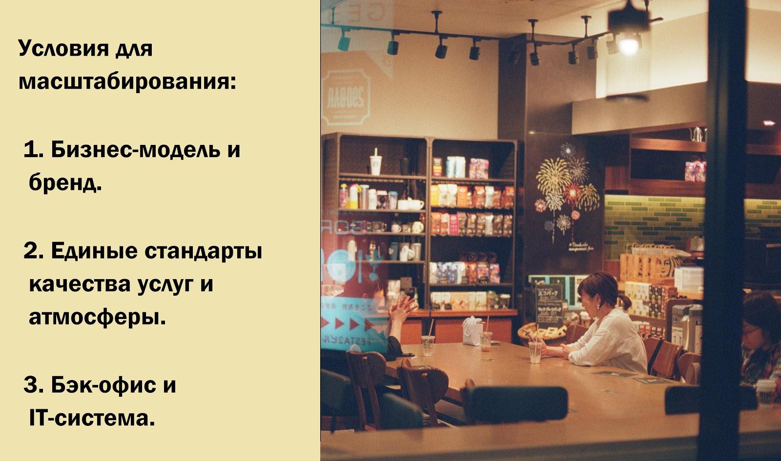Масштабирование ресторанного бизнеса