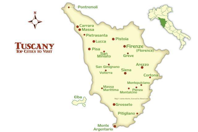 Resultado de imagen de mapa region de pienza italia