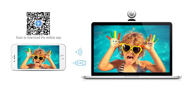 Thủ thuật biến điện thoại thành webcam cho máy tính trên Android và iOS