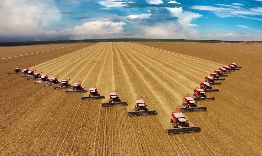 Agronegócio é umas das principais forças econômicas do Brasil. (Fonte: Shutterstock)