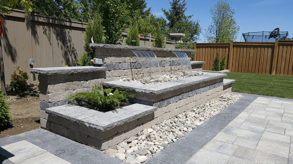 natural stone water features
