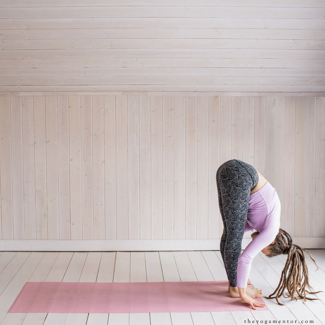 ragdoll pose for anxiety and stress
