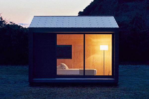 Ngôi nhà gỗ cabin nhỏ xinh dưới chân núi